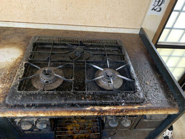 キッチンクリーニング(キッチン レンジフード ガスコンロ)